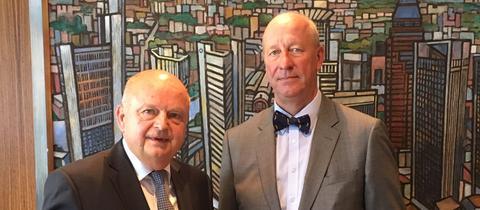 Harald Brandes (li.) und Dr. Matthias Knothe